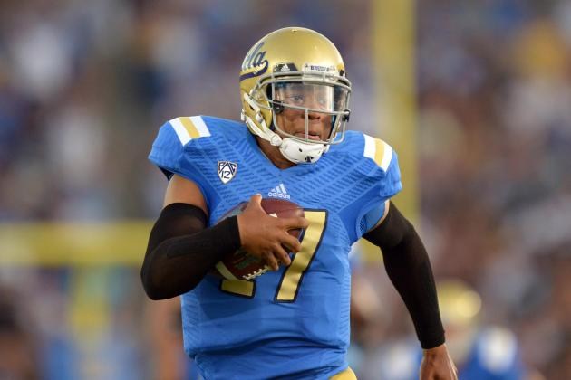 Don't Peek at UCLA's Hundley, or You Might Get Burned