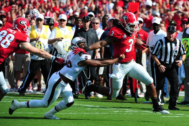Georgia Football: Statistical Blueprint for Todd Gurley to Win the Heisman