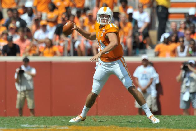 Tennessee's Quarterback Isn't Mobile but He's Still Very Good
