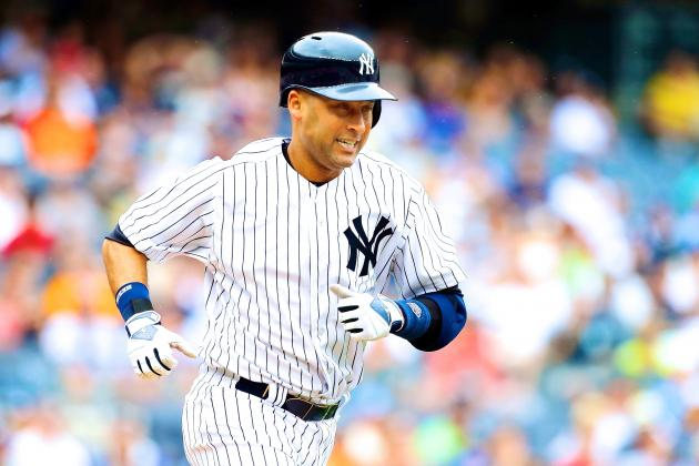 Derek Jeter out for Rest of Season After Going on Disabled List