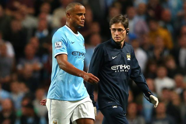 How Manchester City Can Adjust to Vincent Kompany's Absence