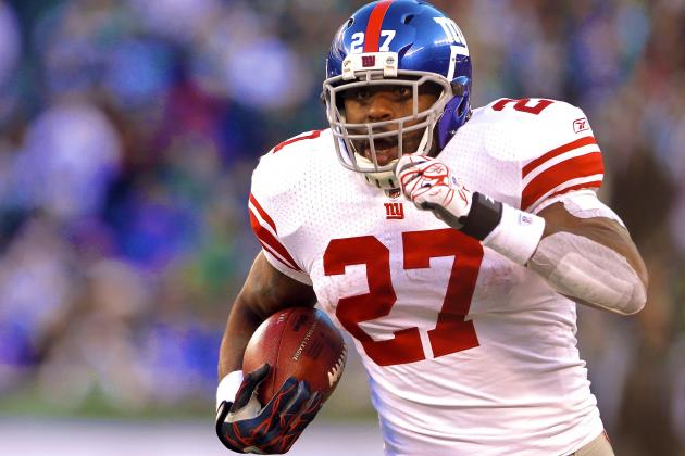 Brandon Jacobs: Projecting Stats & Fantasy Football Value for New York Giants RB