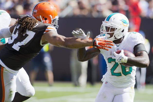 Miami Dolphins Notebook: Analyzing Lamar Miller's Dud vs. Cleveland