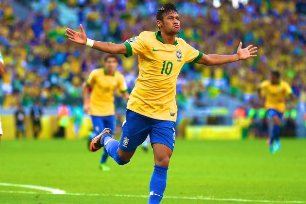 Neymar Display Leaves Brazil Looking at 2014 World Cup with Relish