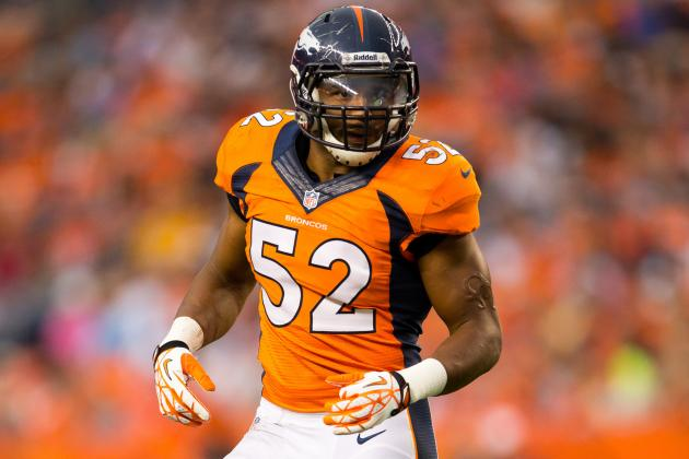 Broncos' Woodyard 'Good to Go' vs. Giants