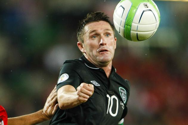 Republic of Ireland Captain Robbie Keane Praises Giovanni Trapattoni