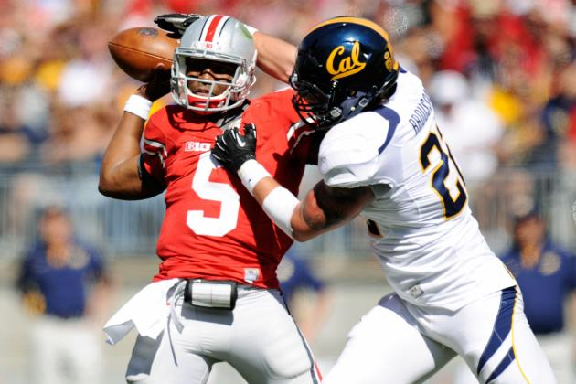 Ohio State vs. California: TV Info, Spread, Injury Updates, Game Time and More