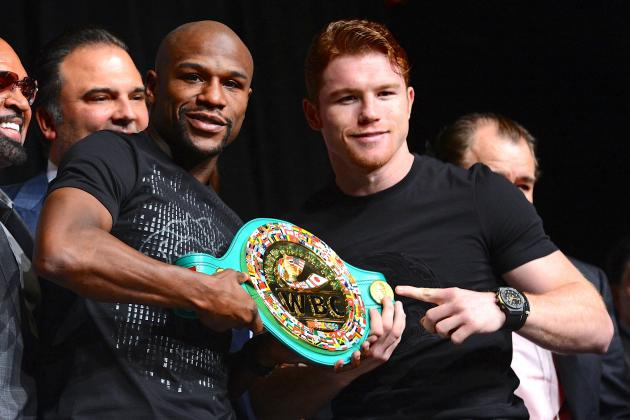 Canelo Alvarez Reportedly Guaranteed $12 Million Payout vs. Floyd Mayweather