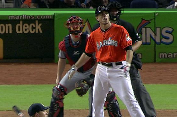 Jose Fernandez Poses After 1st Career Homer Against Braves, Benches Clear