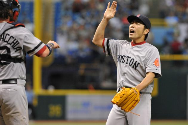 Uehara Sets Red Sox Record by Retiring 34 Straight Batters