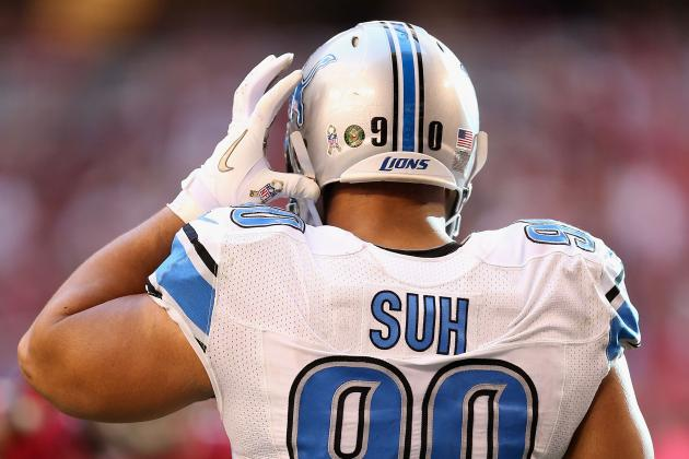 Best Twitter Responses to Ndamukong Suh's $100,000 Fine for Dirty Hit
