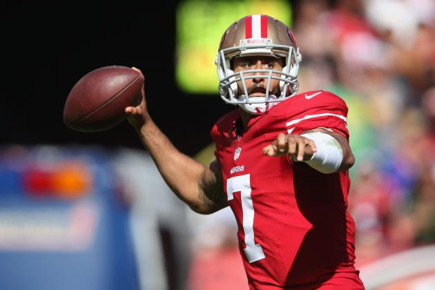 Colin Kaepernick's Week 1 Performance Makes Him Instant No. 1 QB in Fantasy
