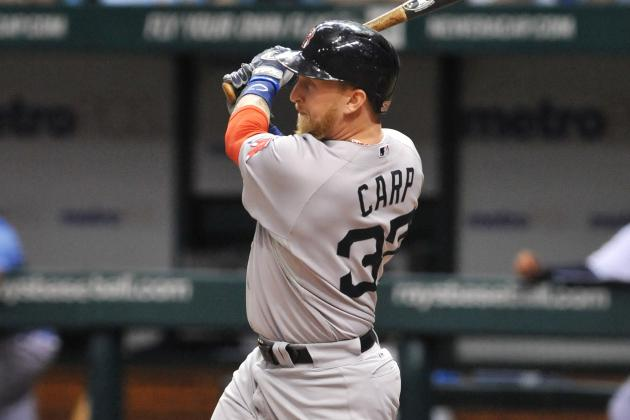 Carp Steals Scene as Sox Slam Rays
