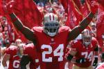 49ers RB Dixon Takes a Shot at the 'She-Hawks'