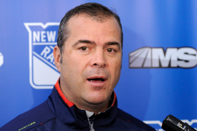 Vigneault and Rangers Emphasize 'Clean Slate'