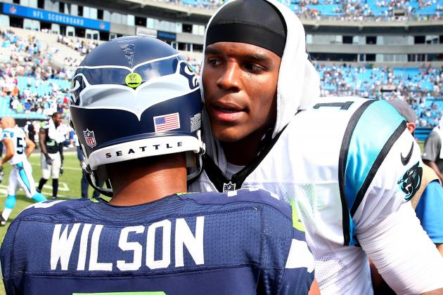 Carolina Panthers' Cam Newton Not Biting on Issues Involving QBs and Race