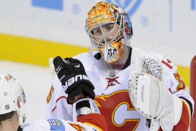 Three Calgary Flames Goalies Competing to Replace Miikka Kiprusoff