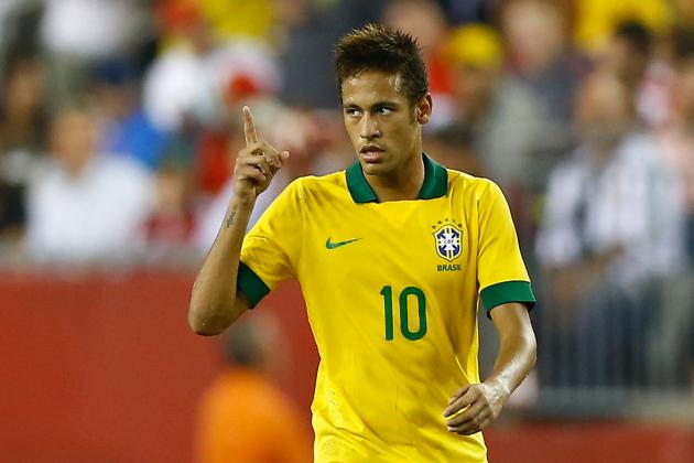 Neymar Can Lead Brazilian Selecao to World Cup Glory in 2014