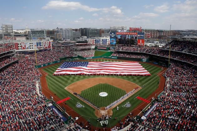 Nats' Announce 2014 Regular Season Schedule