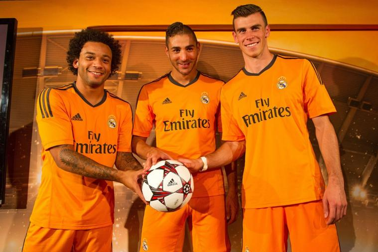Feast Your Eyes on the New Bright Orange Real Madrid Alternate Kit
