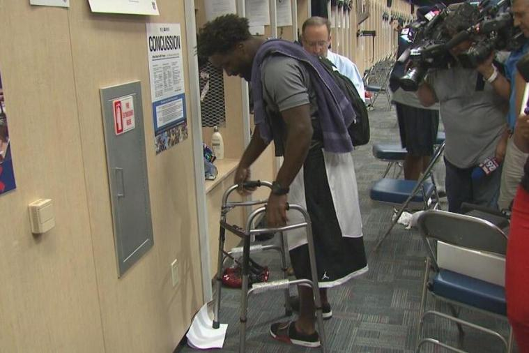 Texans' Danieal Manning Gave Ed Reed a Walker for His 35th Birthday