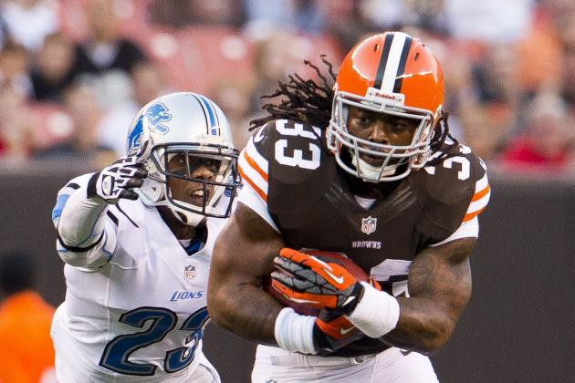 Turner: Browns' Trent Richardson to See 20-Plus Carries