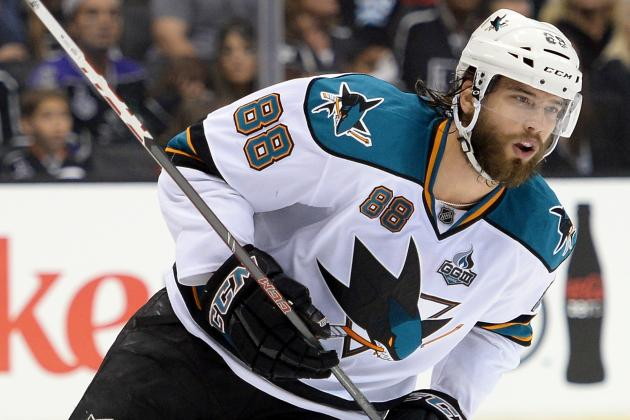 San Jose Sharks Forward Brent Burns Changes Hair Style -- Again