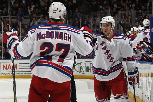 Rangers' McDonagh to Stepan: 'Stay Positive'