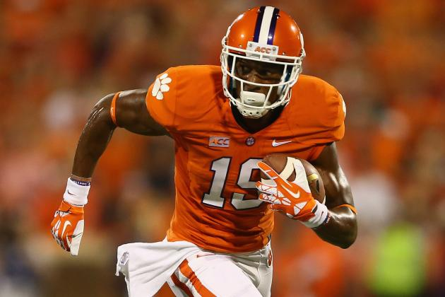 Clemson Receiver Peake out for Season
