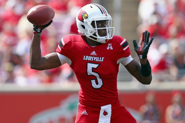 Cats Hope to Knock Louisville's Teddy Bridgewater off His Feet