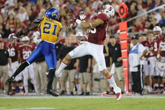 Devon Cajuste Makes His Name at WR for Stanford