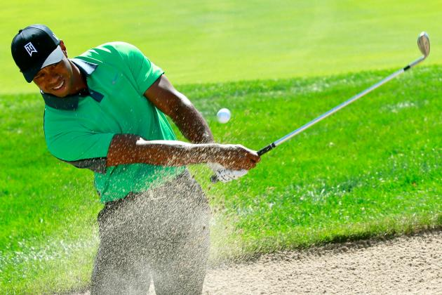Tiger Woods at BMW Championship 2013 Tracker: Live Day 1 Highlights