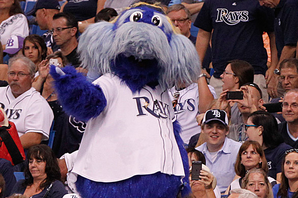 Red Sox Fan Arrested After Allegedly Trying to Choke Rays Mascot