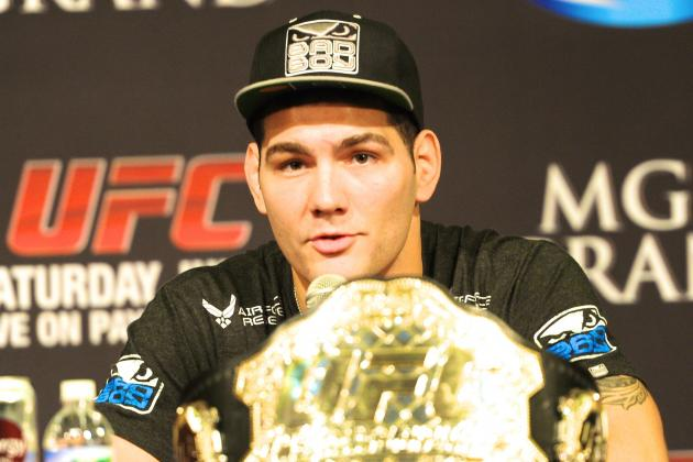 Chris Weidman Entered Anderson Silva Fight 'Bankrupt and Homeless,' Says Coach