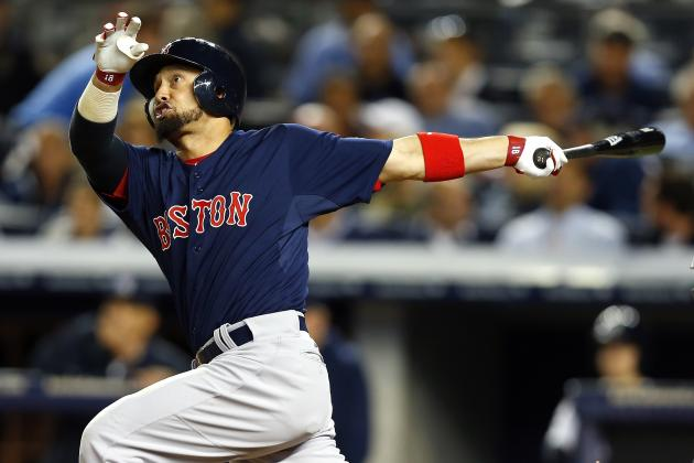 Victorino, Middlebrooks Sitting Tonight vs. Rays