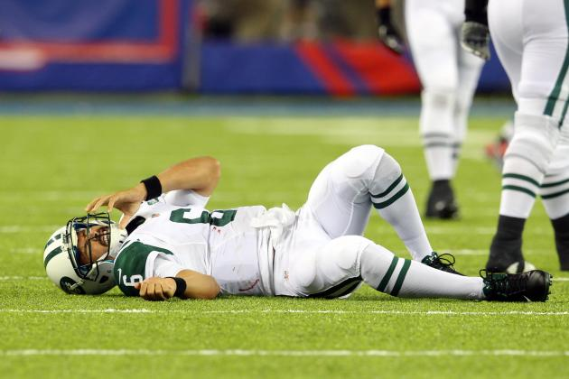 Mark Sanchez's Injury Puts His New York Jets and NFL Career at Risk