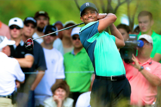 Tiger Woods at BMW Championship 2013: Day 1 Recap and Twitter Reaction
