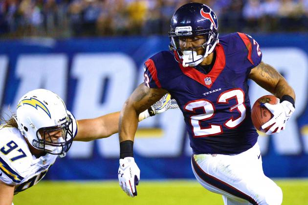 Arian Foster's Fantasy Trade Value, Updated Outlook Heading into Week 2