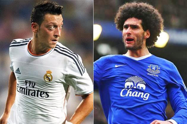 Manchester United Should Have Signed Arsenal's Mesut Ozil, Not Marouane Fellaini