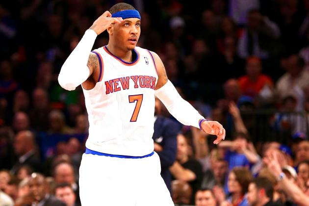Carmelo Anthony Drops Strongest Hint Yet That He Won't Leave NY Knicks in 2014