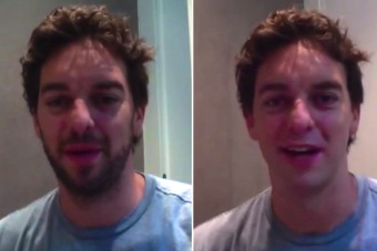 Pau Gasol Shaves His Beard for First Time in 9 Years, Captures It All on Camera