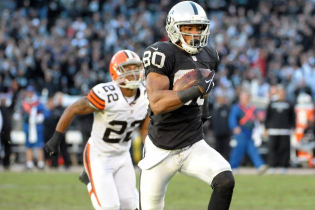 Rod Streater: From Undrafted Free Agent to Raiders Top Receiver
