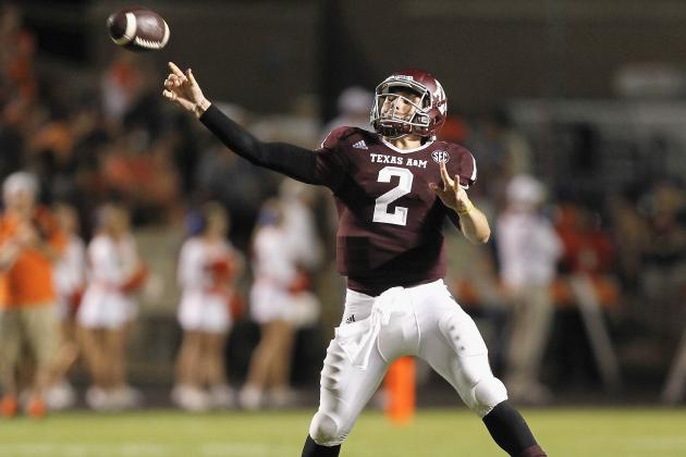Johnny Manziel Doesn't Need to Run Against Alabama