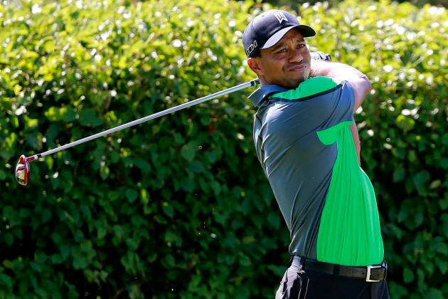 BMW Championship 2013: Tiger Woods in Prime Position for 6th Win of Season