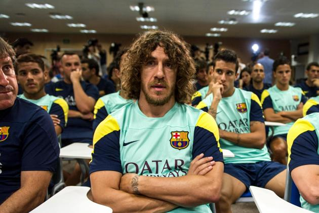 Carles Puyol Nearing Full Training Comeback