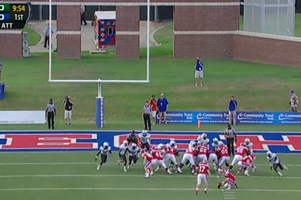 Louisiana Tech's Kicker Banked This Field Goal in off Both Uprights