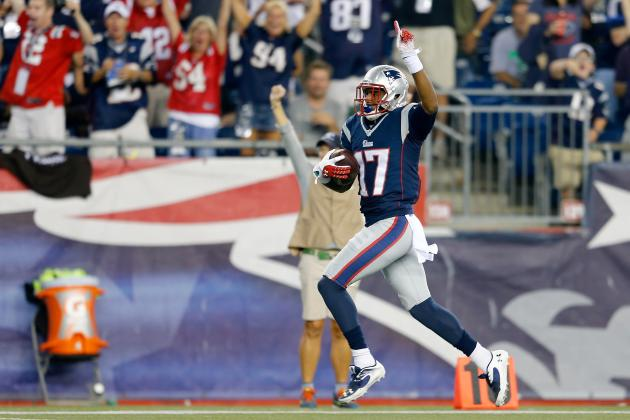 Aaron Dobson's Updated 2013 Fantasy Outlook After Week 2