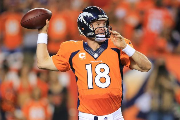 Peyton Manning's Playmakers Make Him Clear Favorite to Win Record 5th NFL MVP