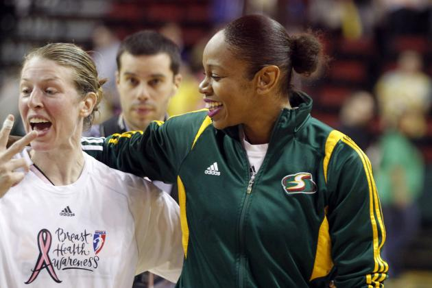 Voepel: Retiring Duo Set Standard for WNBA