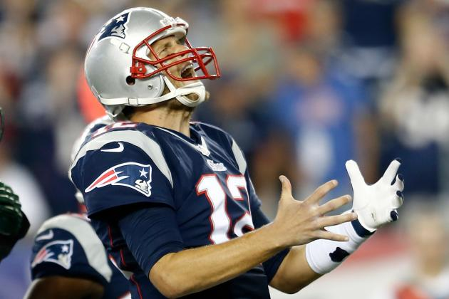 Brady Survives a Horrific Statistical Night